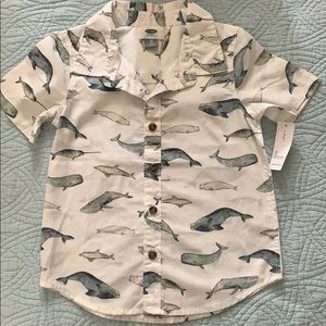 Old navy whale shirt